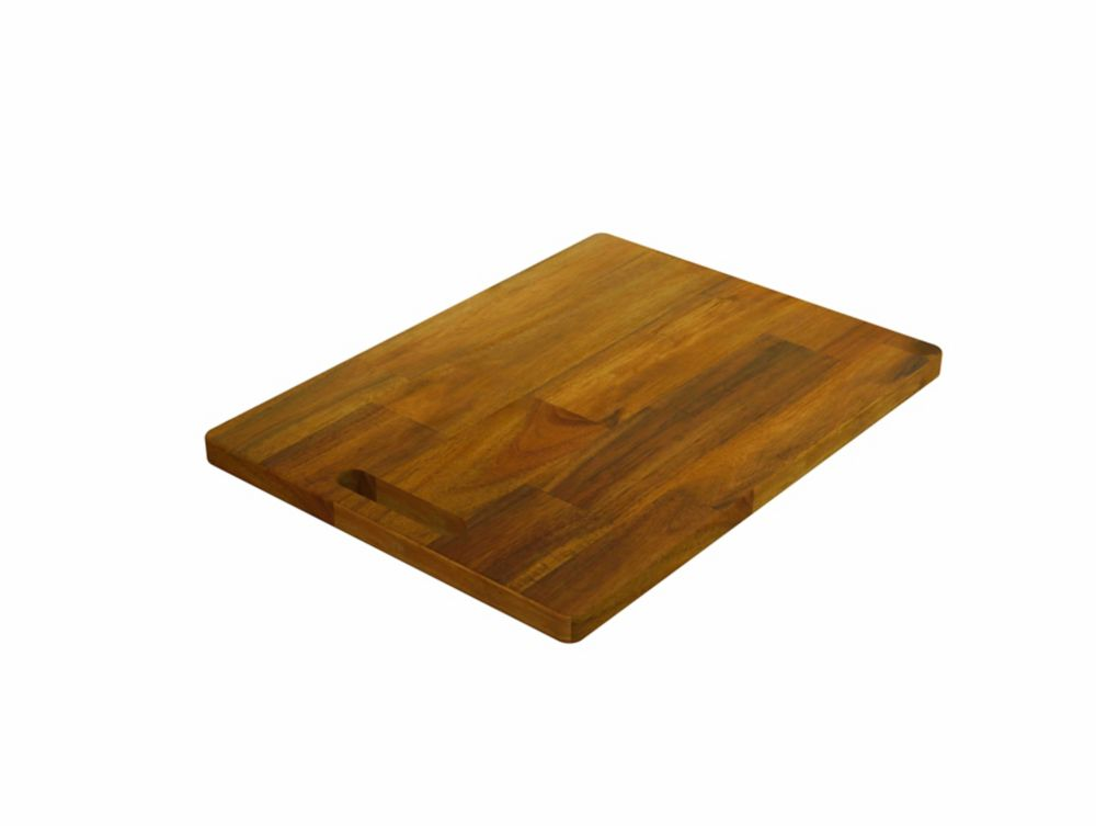 INTERBUILD Acacia, Butt Joint Chopping Board, Golden Teak, 400x300x20mm 16 inch x 12 inch x 0.75 inch