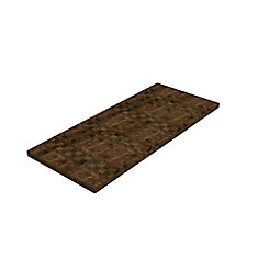 Acacia Countertop, Butcher Block, Brown, 650x1500x40mm 25.5 inch x 59 inch x 1.5 inch