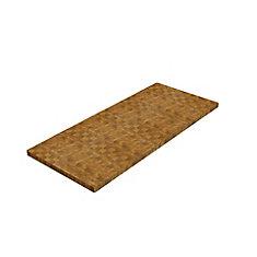 Acacia, Countertop Butcher Block, Golden Teak, 650x1500x50 25mm, 25.5 inch x 59 inch x 2 inch