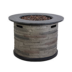 Propane Fire Pit Chat Table