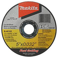 5 inch x 1/32 inch x 7/8 inch Tkcow T1 Z60T-Bf Mtl/Ss 25/Se M=1X
