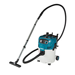 MAKITA 30L Professional Push&Clean Wet/Dry Dust Extractor