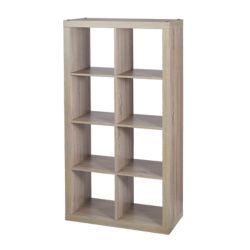 Home Decorators Collection 8-Cube Storage Unit in Light Oak