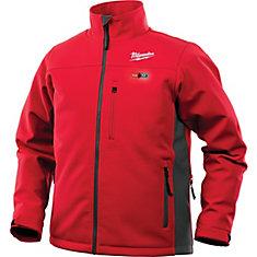 Veste chauffante rouge sans fil au lithium-ion M12 12V pour homme (outil seulement)
