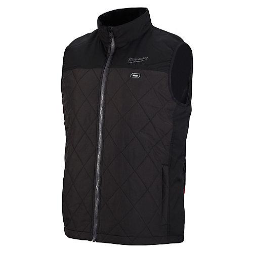 Gilet matelassé chauffant noir AXIS 12 V sans fil au lithium-ion M12 pour homme (veste seulement)