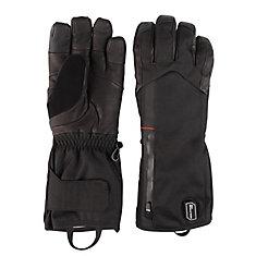 Gants chauffants, noir, moyen; batterie et chargeur
