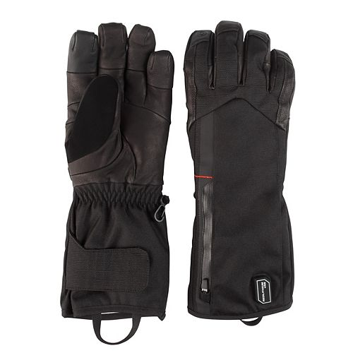 Milwaukee Tool Large Black Heated Gloves with Battery and Charger