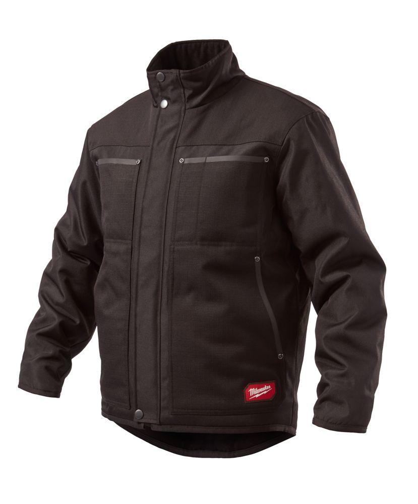 Milwaukee Tool Men's 2XL Black GRIDIRON Traditional Jacket