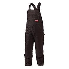 Hommes GRIDIRON 2XL Cuissard à bretelles zippées noir à cuissardes