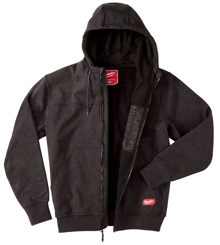 Milwaukee Tool Men's 2X-Large Black NO DAYS OFF Hooded Sweatshirt