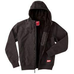 Milwaukee Tool Men's Large Black NO DAYS OFF Hooded Sweatshirt