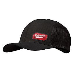 Milwaukee Tool Chapeau de camionneur GRIDIRON noir - ajustement ajustable