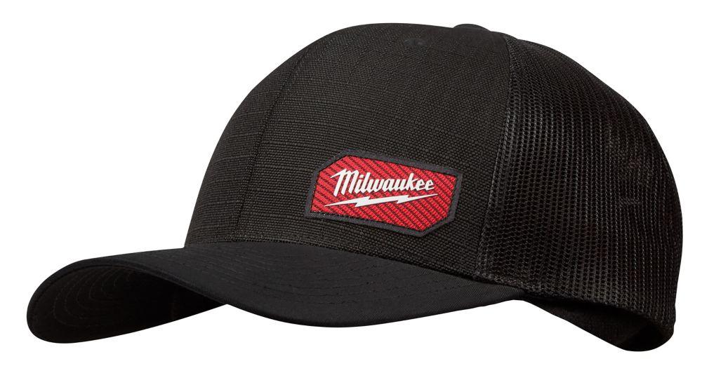 Milwaukee Tool Black GRIDIRON Trucker Hat - Adjustable Fit