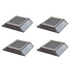 4 Lampes Solaire Pour Terrasse
