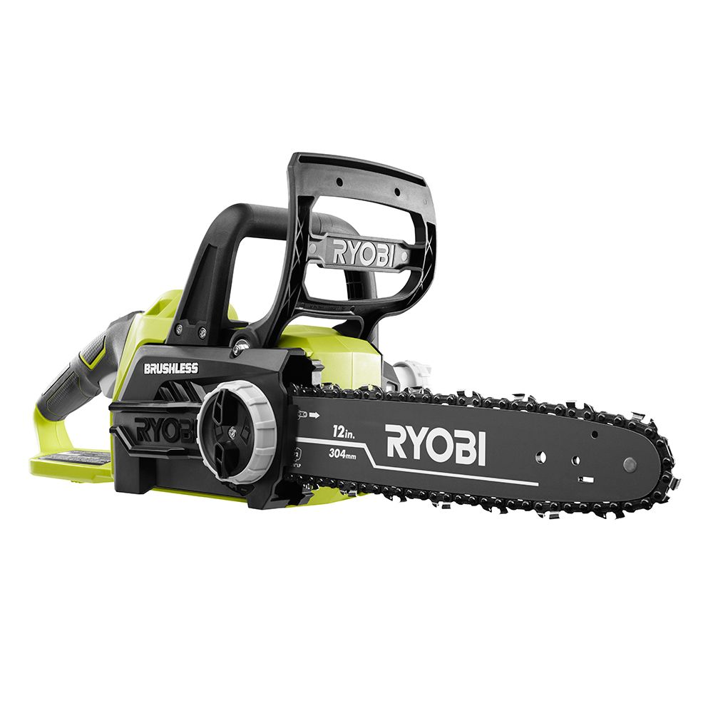 Ryobi P548A ONE+ 18V Lithium-Ion 12-Inch Brushless Cordless Chainsaw (Tool Only)