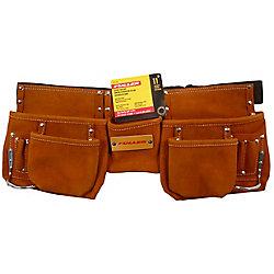 Fuller 11-Pocket Leather Tool Belt
