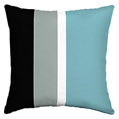 Bo Stripe Square Throw Pillow