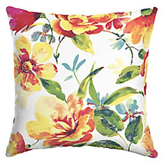 Tammy Floral Square Throw Pillow