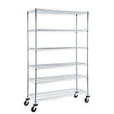 Heavy Duty 6-Shelf Storage Unit