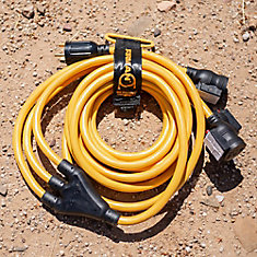 25ft. Power Cord (TT-30P) and (5-20R) Receptacles