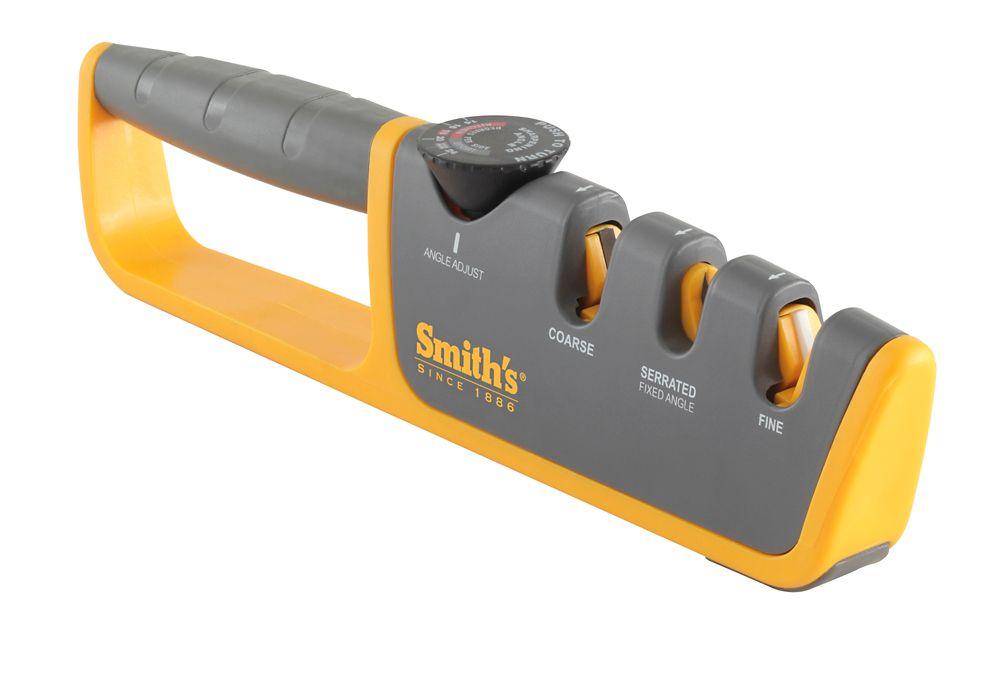 Smiths Adjustable Angle Pull-Through Knife Sharpener