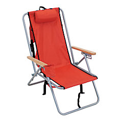Stl. Backpack Chair - Red