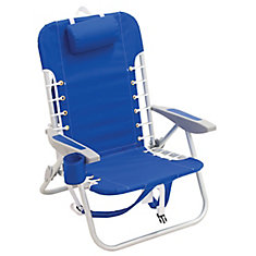 Alum Lace Up Backpack Chair