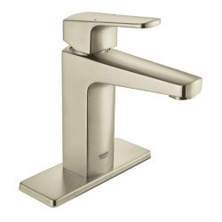 GROHE Tallinn Single Handle Centerset Bathroom Faucet in Brushed Nickel finish