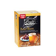 Premium Beer/Hop Infused Bisquettes 48-Pack