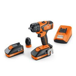 FEIN ASB18QC BASIC SET Cordless Hammer Drill 18V 2.5Ah 2-speed