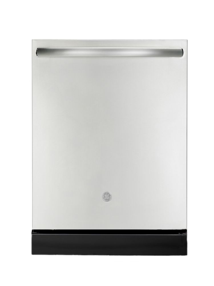 GE 24-inch Top Control Built-in Tall Tub Dishwasher in Stainless Steel with Stainless Steel Tub