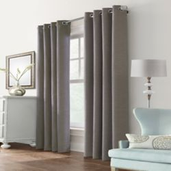 HDC Blake Blackout Grommet Curtain 52 inches width X 108 inches length, Taupe