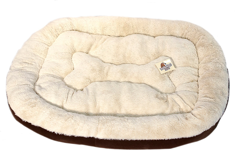 Odin Extra Large Pet Bed 36X48 inch Chocolate