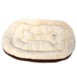Danazoo Odin Extra Large Pet Bed 36X48 inch Chocolate