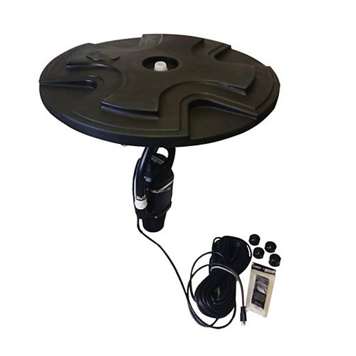 Outdoor Water Solutions 1/2 HP Floating Pond Fountain Eco Line
