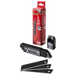 Olfa 25 mm UltraSharp Black Blades - (HBB/CP40) (40-Pack)