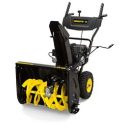 Brute 24 inch 9.5 TP Gas Dual Stage Snowblower