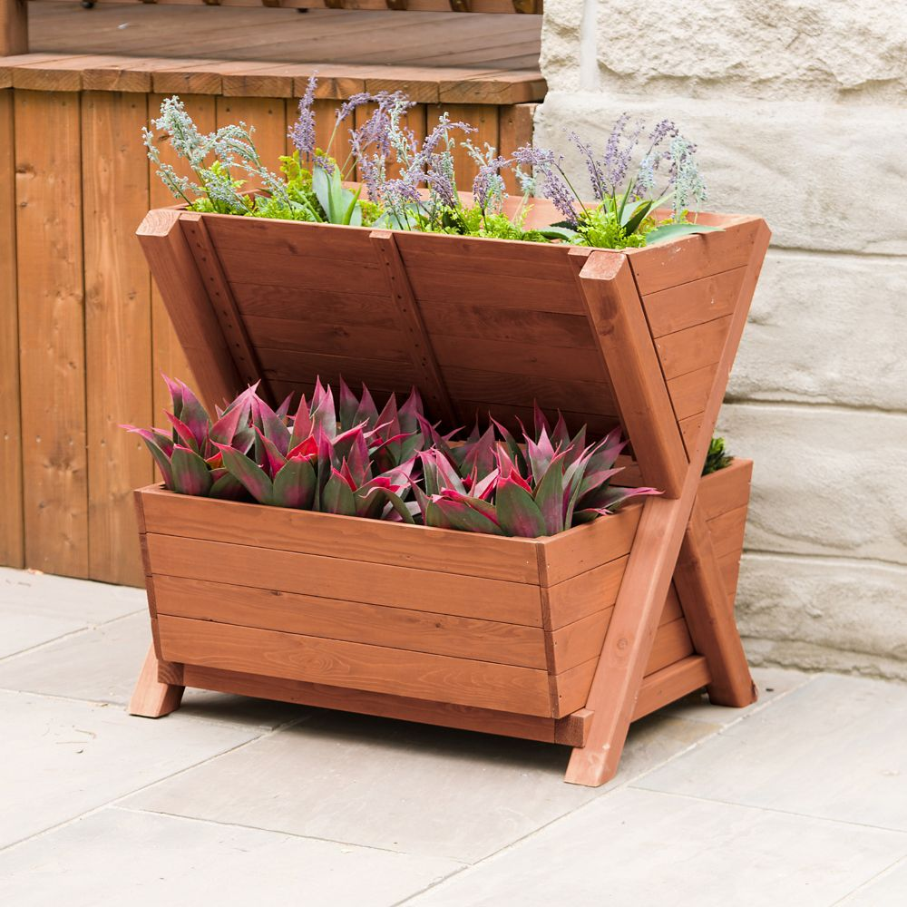 Leisure Season 2-Tier Planter Box