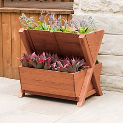 Leisure Season 2-Tier Planter Box
