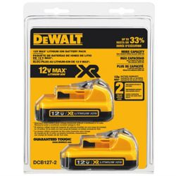 DEWALT 12V MAX Lithium-Ion Battery 2.0 Ah (2-Pack)