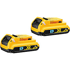 20V MAX Lithium-Ion Compact Tool Connect Battery 2.0 Ah (2-Pack)