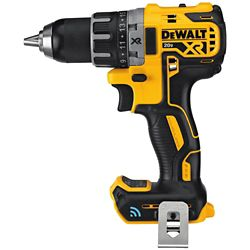 DEWALT 20V MAX XR avec Tool Connect Perceuse/visseuse compacte sans fil au lithium-ion sans balais (outil seulement)