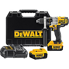 20V MAX Lithium-Ion Premium 1/2-inch Drill/Driver 4.0 Ah with 2 Batteries, Charger and Kit Box