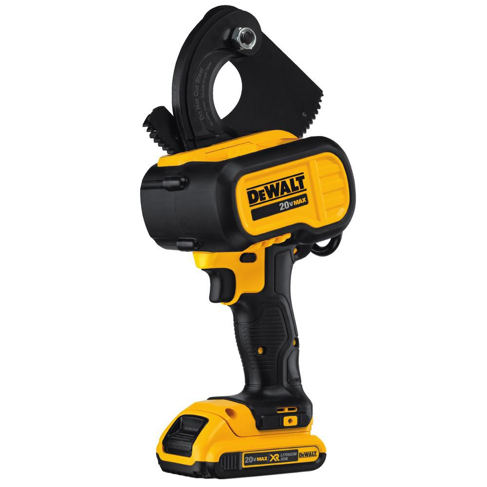 DEWALT 20V MAX Lithium-Ion Cable Cutting Tool 2.0 Ah with Battery, Charger and Kit Box