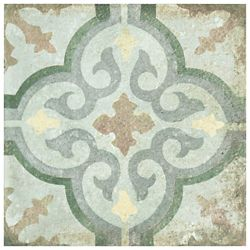 Merola Tile D'Anticatto Decor Palazzo 8-3/4-inch x 8-3/4-inch Porcelain Floor and Wall Tile (11.25 sq.ft./ case)