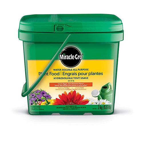 Engrais pour plantes hydrosoluble tout usage 24-8-16 3kg