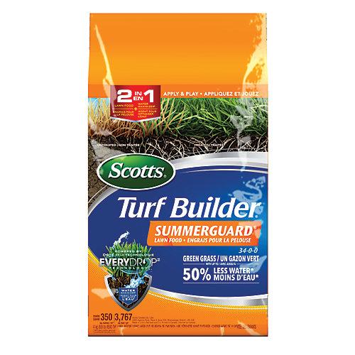 Turf Builder engrais pour la pelouse Summerguard 34-0-0