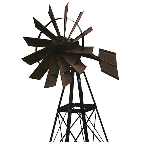 20 ft. Bronze Powder Coated Aeration Windmill