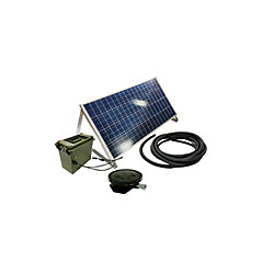 Outdoor Water Solutions Solar Small Pond Aerator 1 Direct Drive System