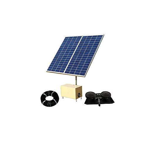 Solar Pond Aerator 2 AerMaster Direct Drive Aeration System